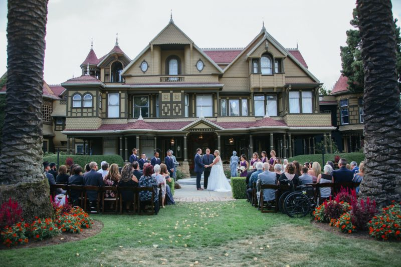 Winchester Mystery House Wedding San Jose, CA The Image Society